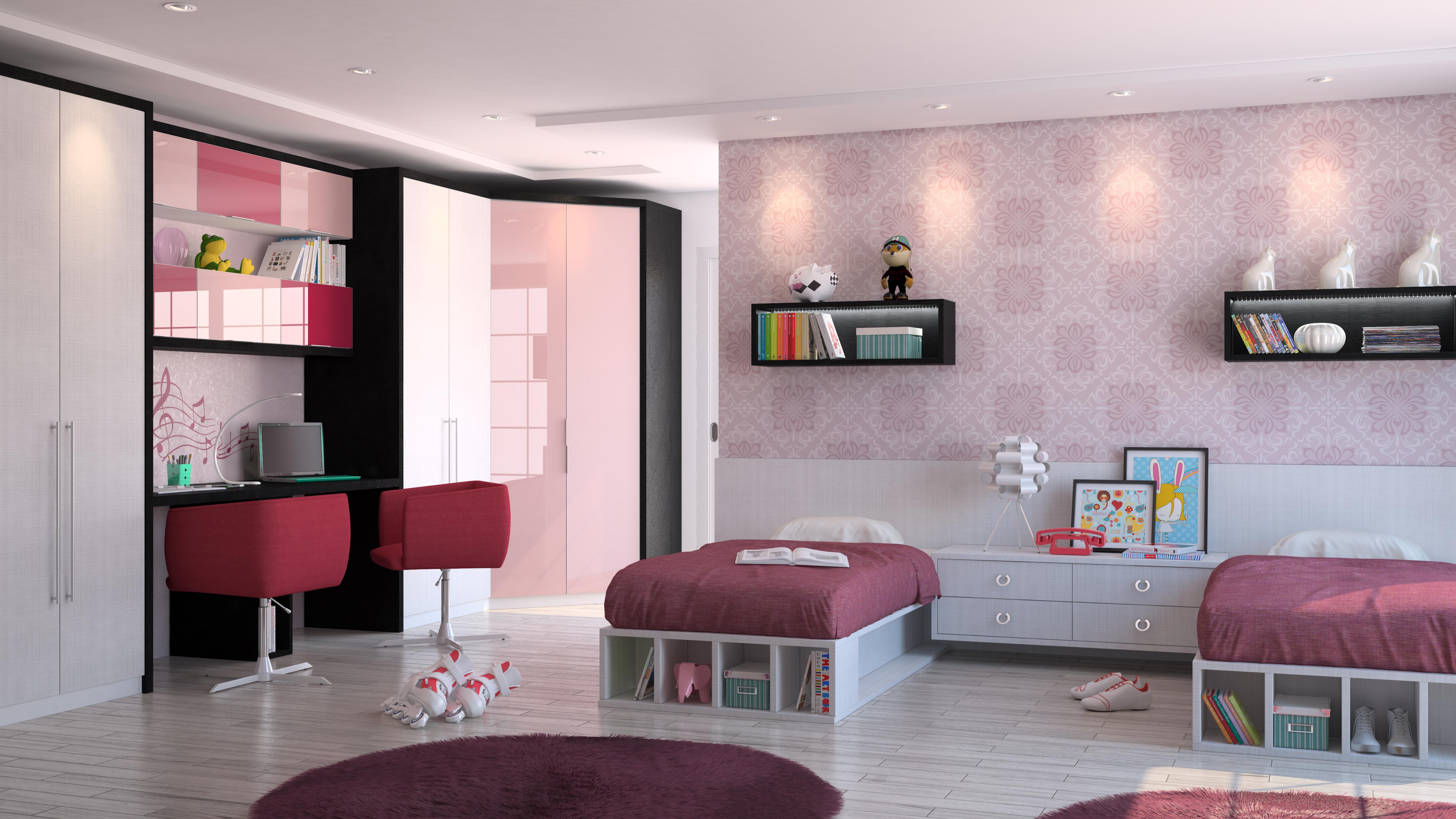 O quarto do seu filho tem que ser o lugar mais especial da  ~ Quarto Planejado Lilas